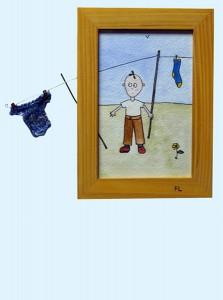 shirt washing-line boy, small picture
