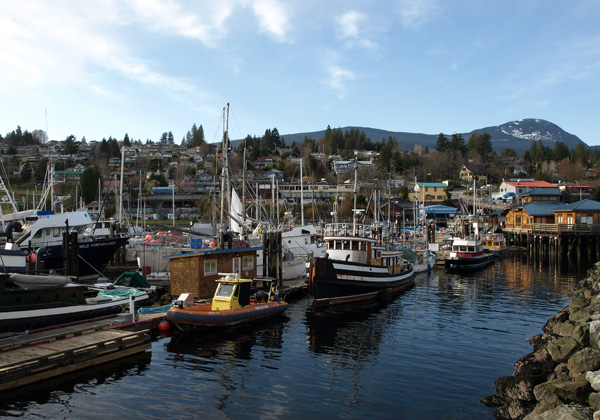 Boats in Gibson, Langdale, BC