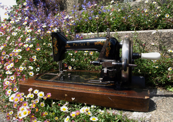 sewing machine Perfex B after 2