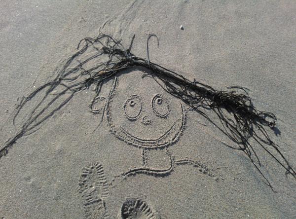 Seaweed face 1