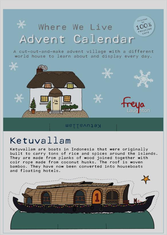 Where we Live advent calendar