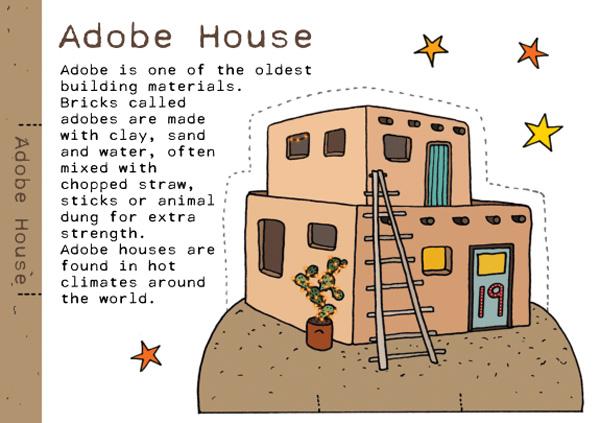 advent calendar Adobe house