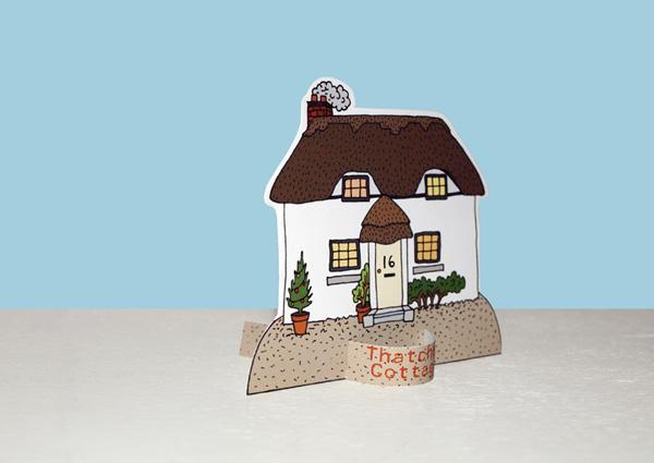 advent calendar thatched cottage