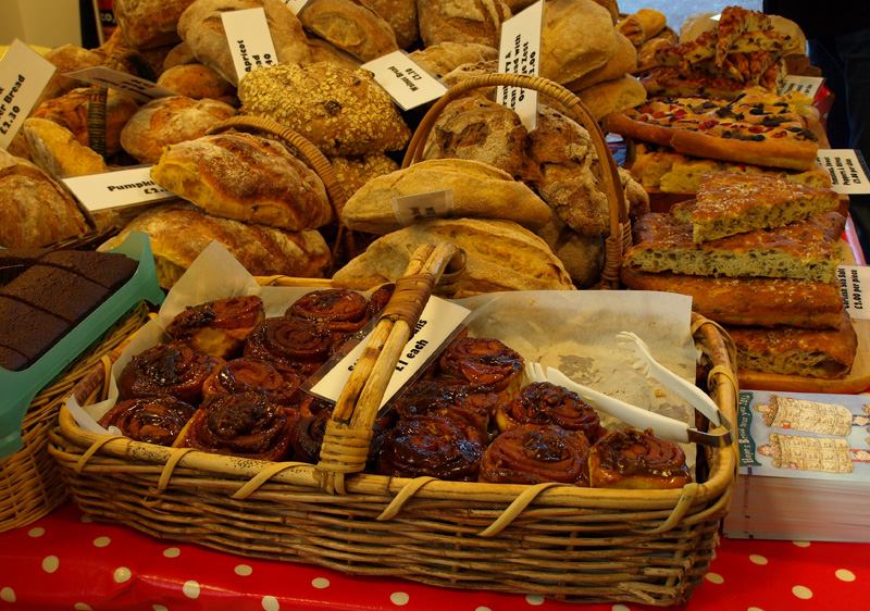 Hope's Bread at Helston market