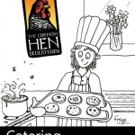 The Cornish Hen catering flyer © Freya Laughton