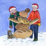 Hope's Christmas Card 2014 © Freya Laughton